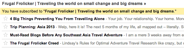 travel adventure rss feed