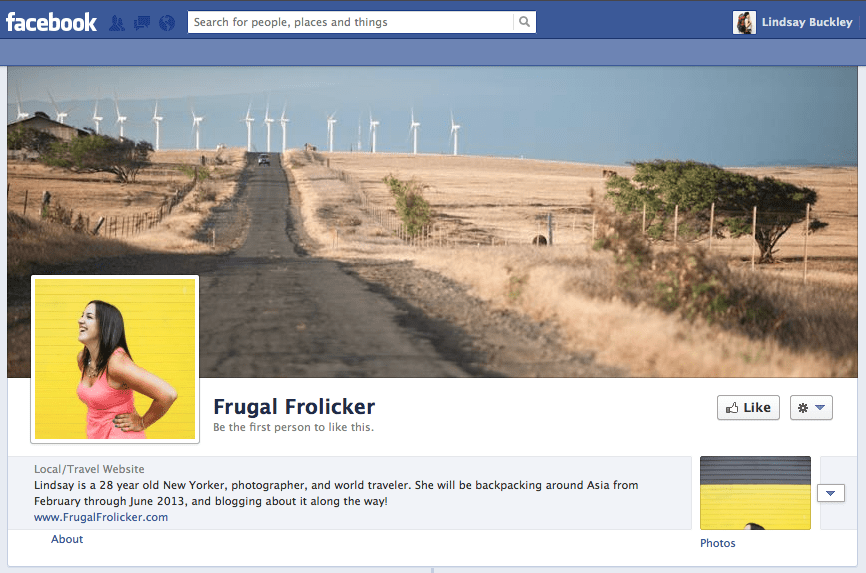 frugal frolicker facebook page