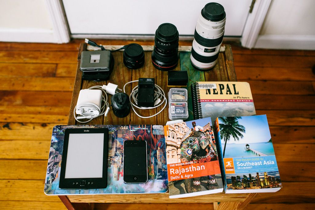 packing for asia backpacking trip