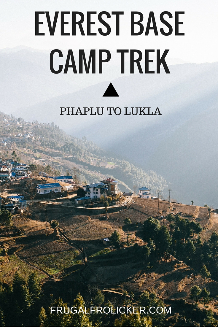 Everest Base Camp Trek: Phaplu to Lukla