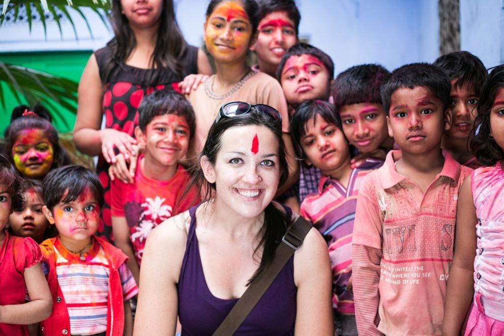holi in jaipur india