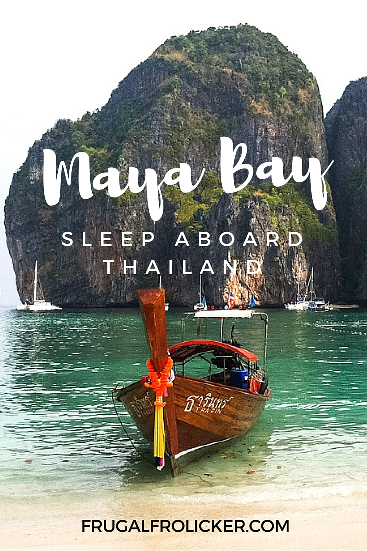 Maya Bay Sleep Aboard in Thailand