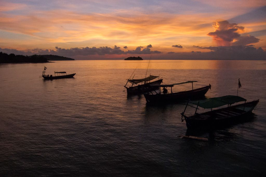 koh rong sunrise