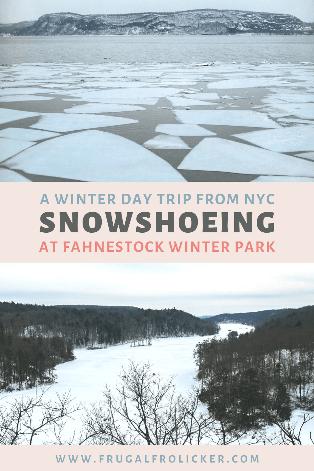 Where to go snowshoeing near NYC