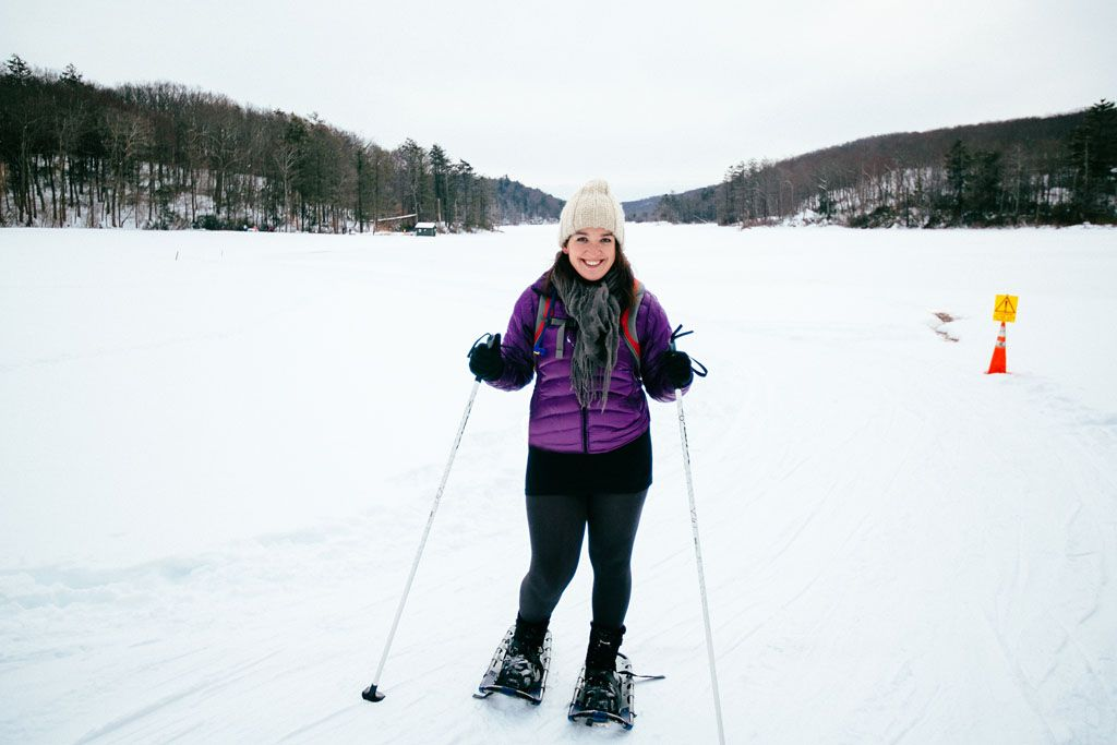 Snowshoeing at Fahnestock