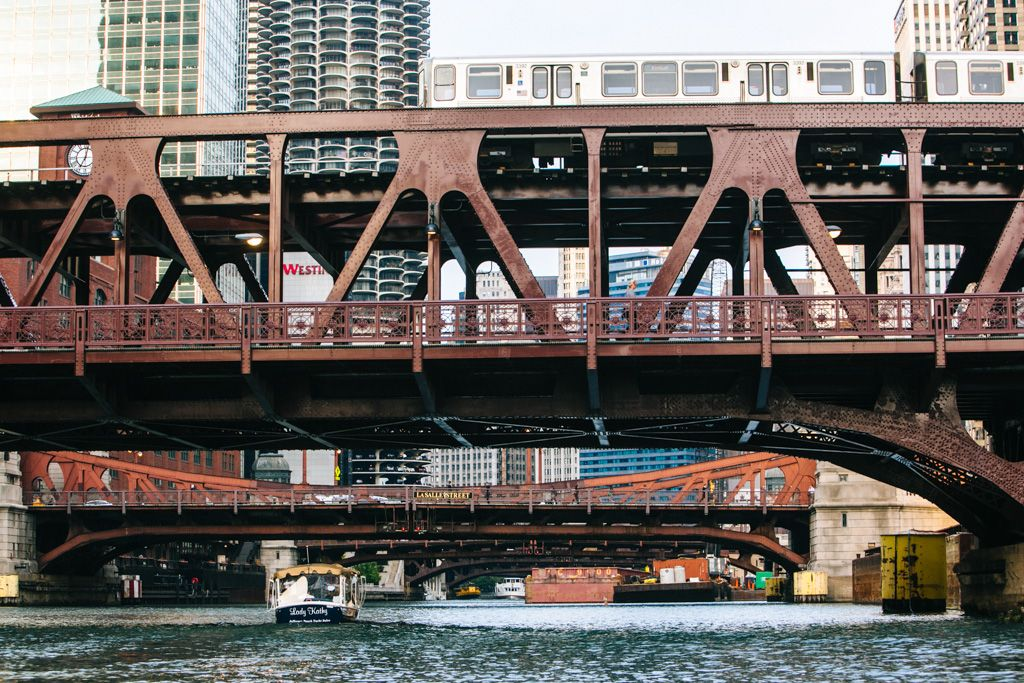 Chicago River Boat Trip