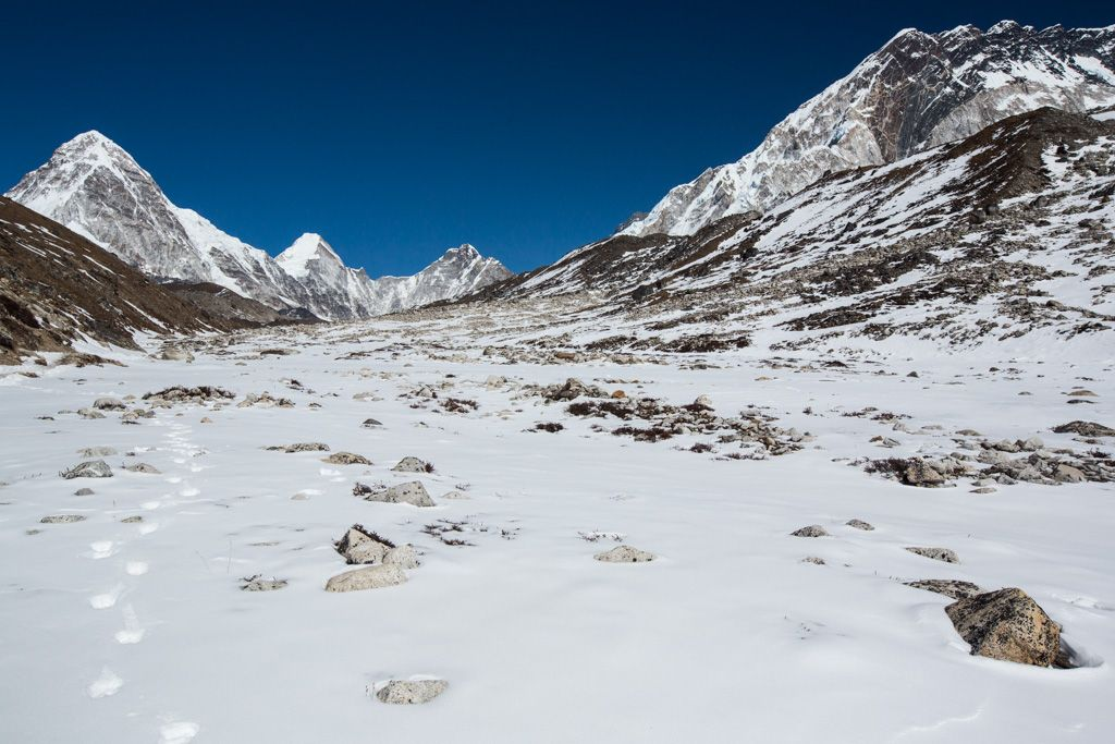 Everest Base Camp Trek - beautiful places in Asia