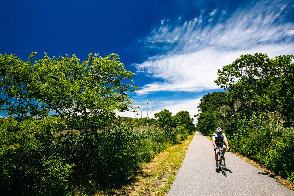 Biking the Cape Cod Rail Trail