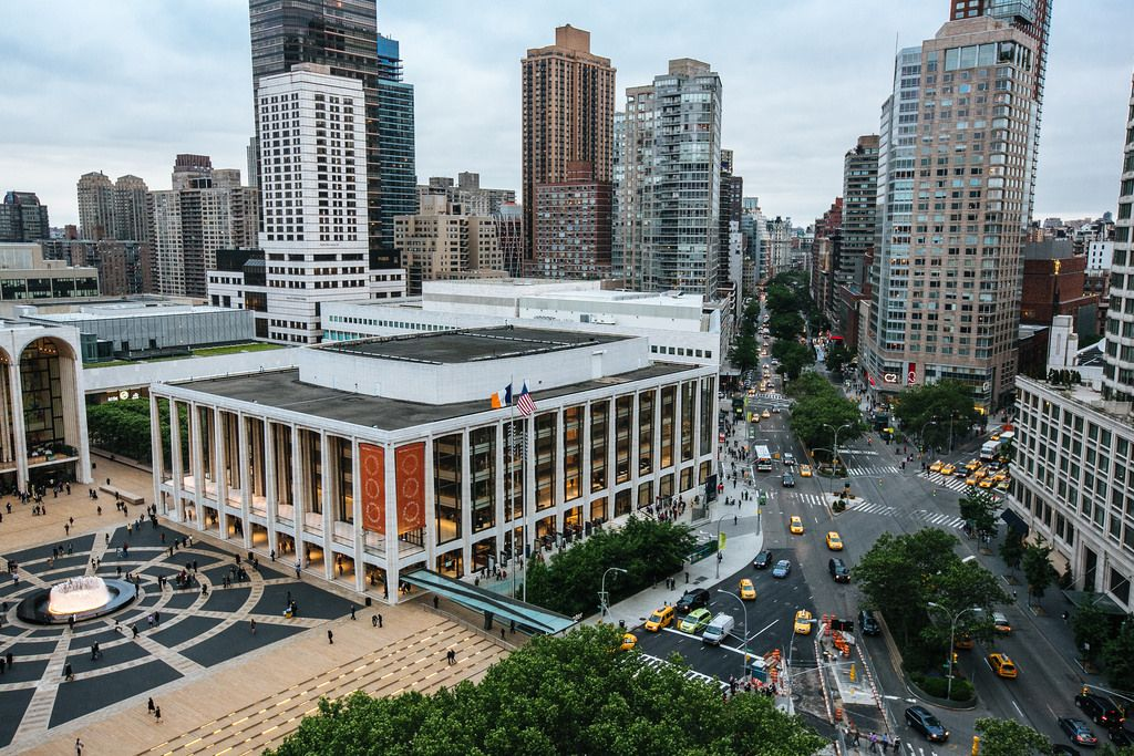 Lincoln Center Manhattan