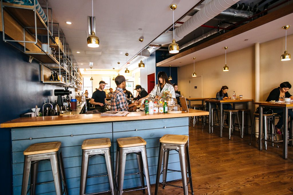Budin coffee shop in Greenpoint, Brooklyn