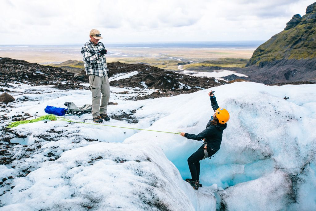 Iceland Glacier Hike with Glacier Guides