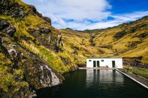 best hot springs in iceland