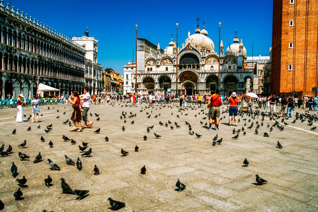 St. Marks Square in Venice, Italy