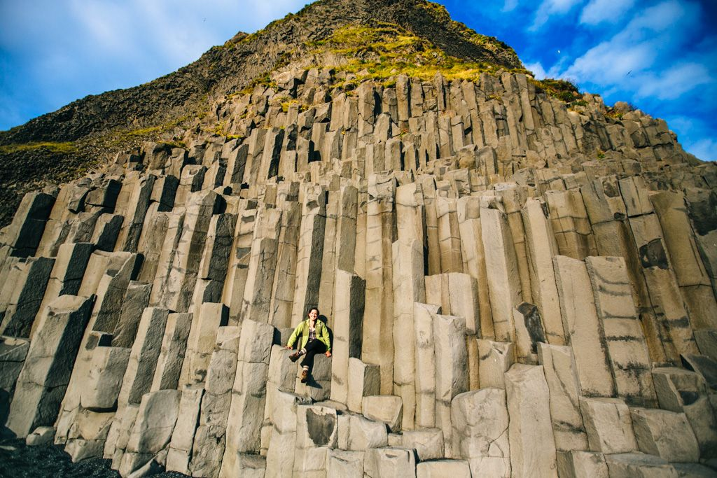 Reynisfjara Beach in Iceland