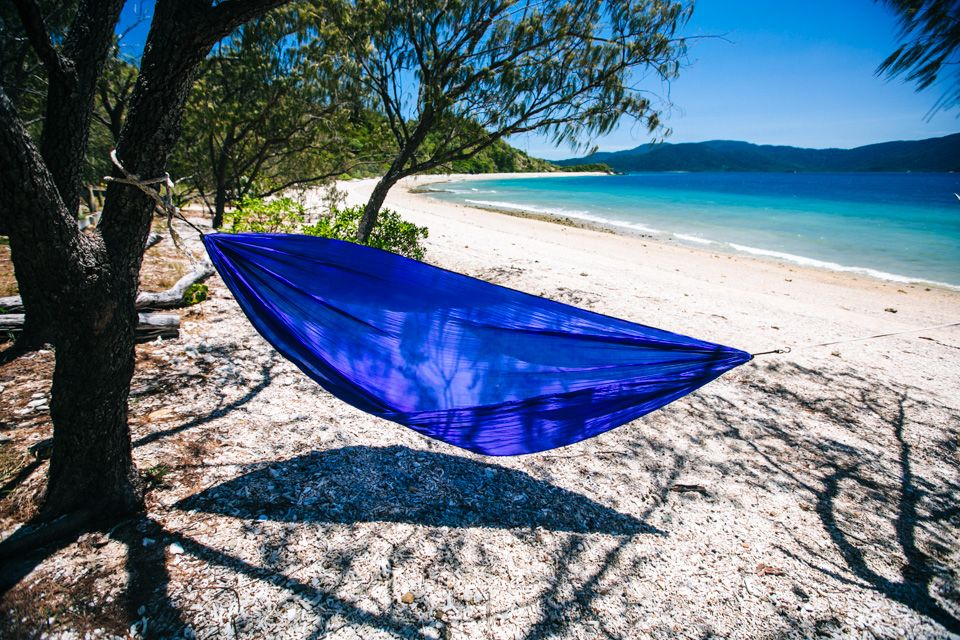 Whitsundays Camping on South Molle Island