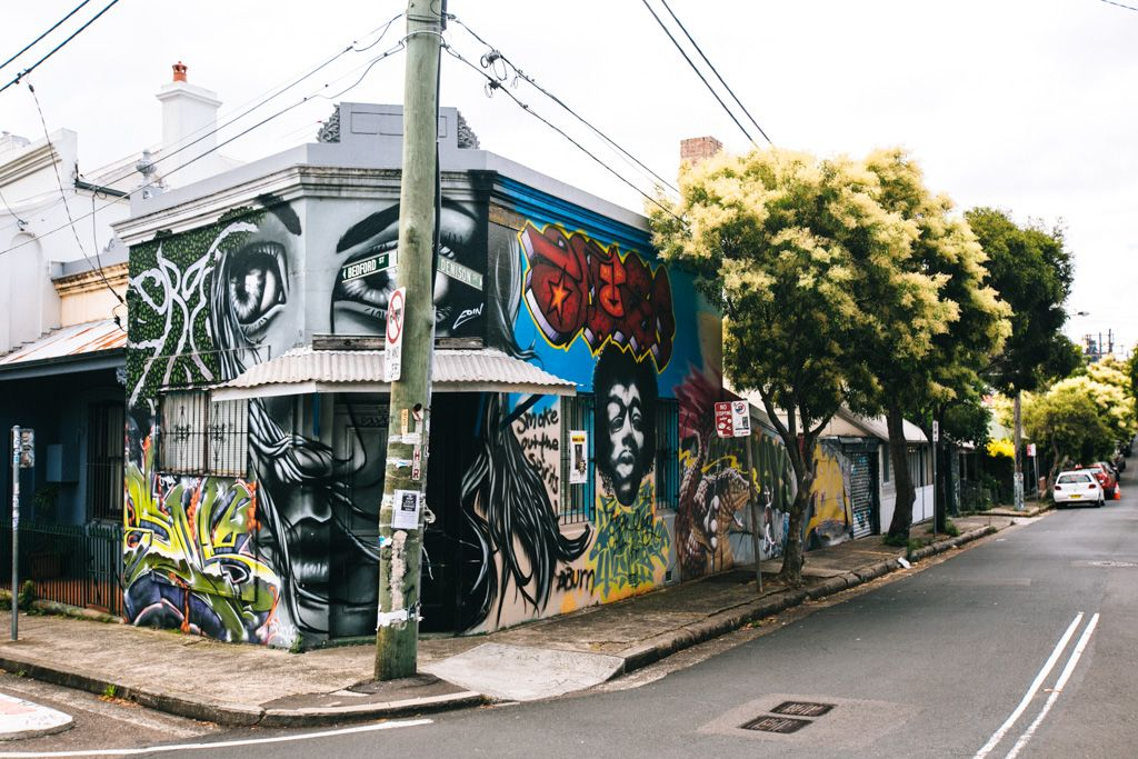 Newtown Sydney street art