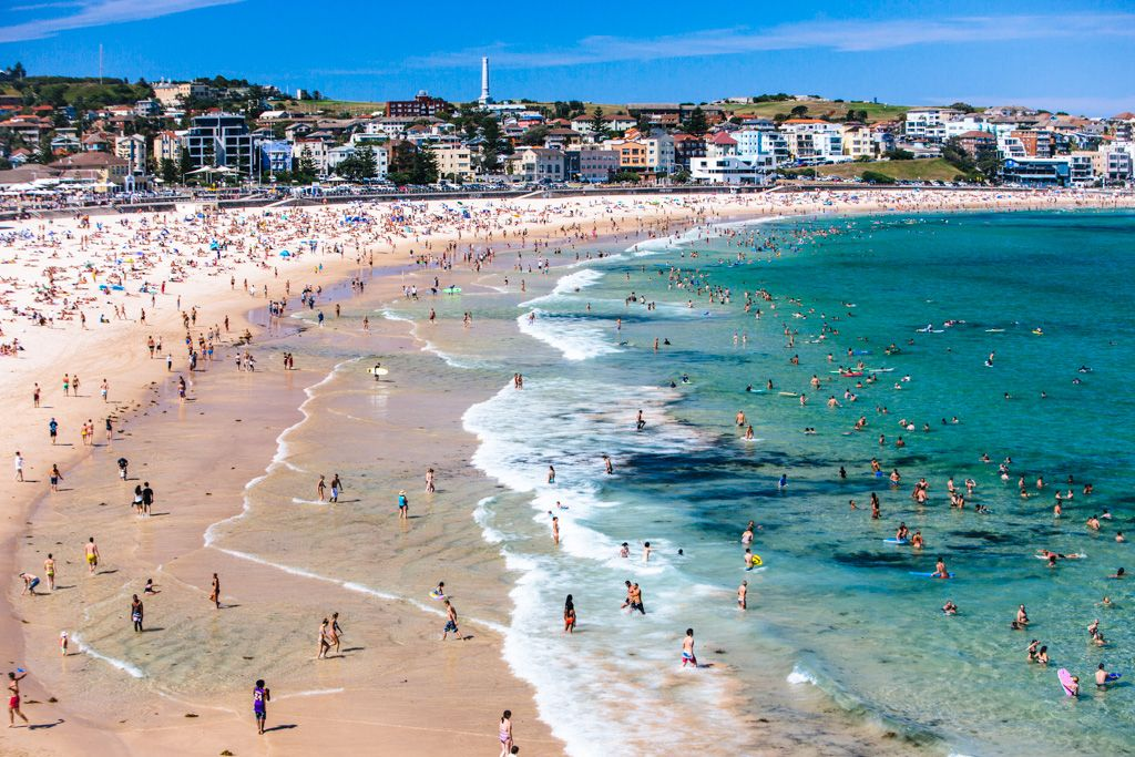 Living On Bondi Beach Australia