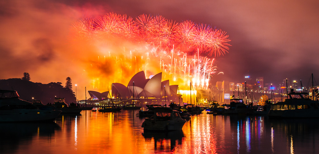 The Best View Of The Sydney New Years Eve Fireworks Frugal Frolicker