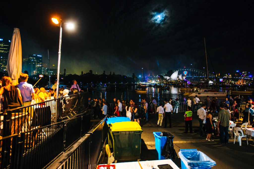 Sydney New Years Eve - Midnight at the Oasis