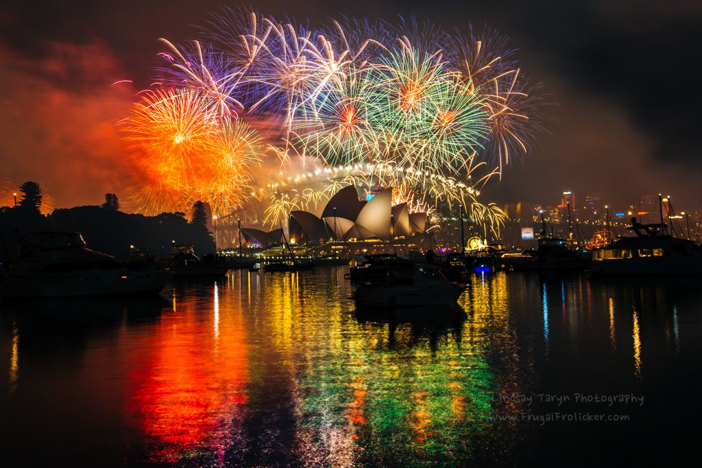 Most beautiful place in Australia: Sydney New Years Eve fireworks