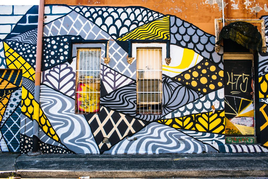 Sydney street art in Newtown