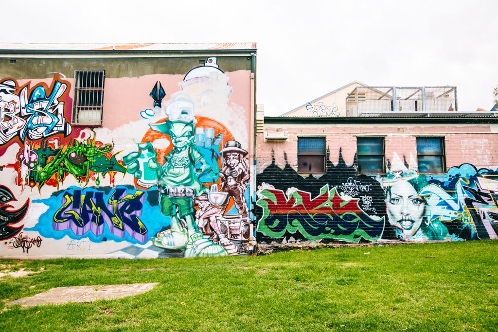 Sydney street art in Newtown