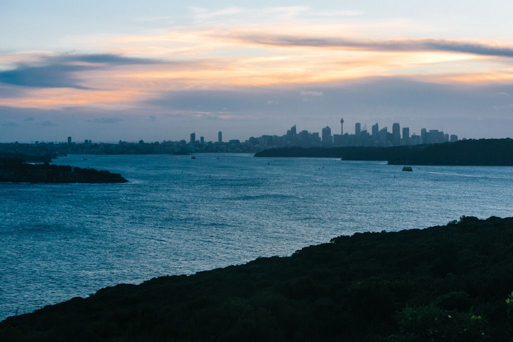 North Head Sydney sunset