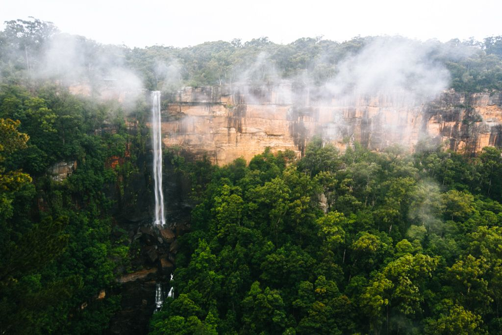 Kangaroo Valley waterfall