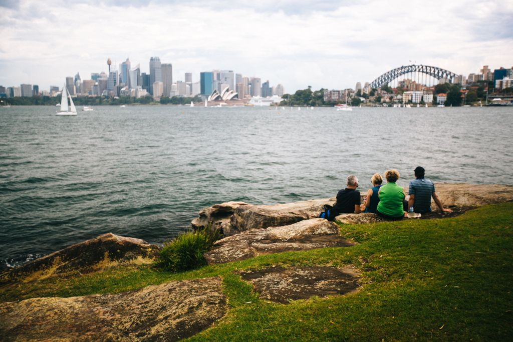 Sydney Harbour from Cremorne