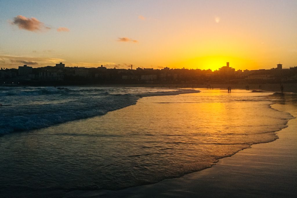 Bondi Beach sunset