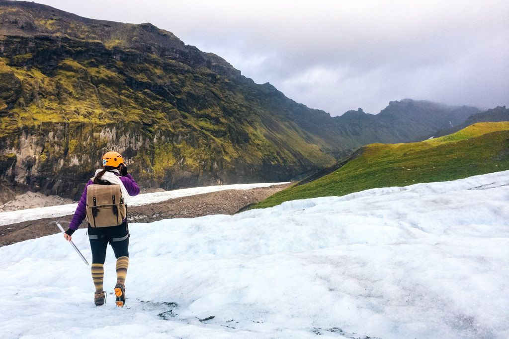 Travel photographer - Iceland glacier hike