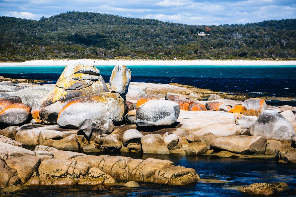 Prettiest places in Australia: Bay of Fires Tasmania
