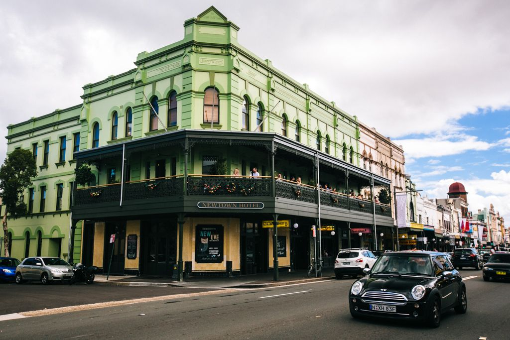 King Street in Newtown, Sydney