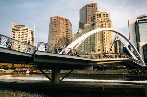 Yarra River in Melbourne Australia