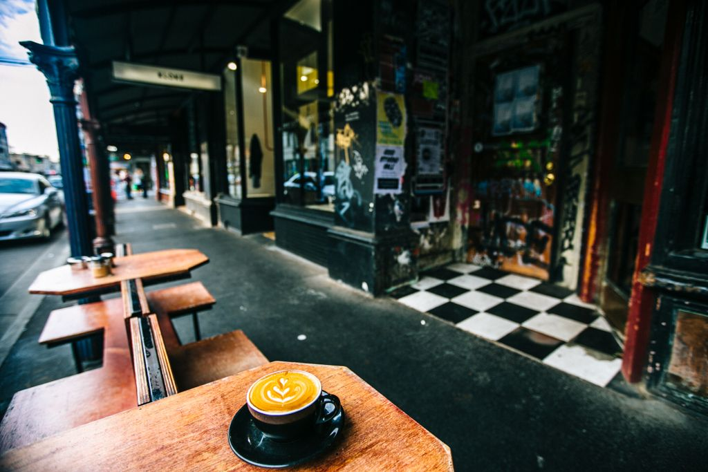 coffee in Melbourne Australia
