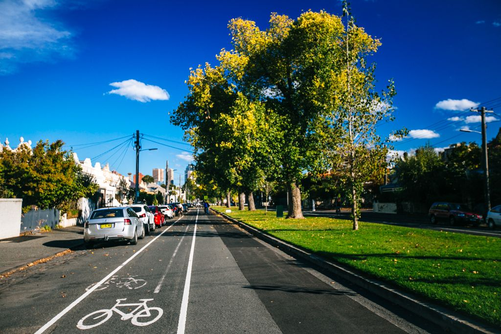Cycling in Melbourne Australia