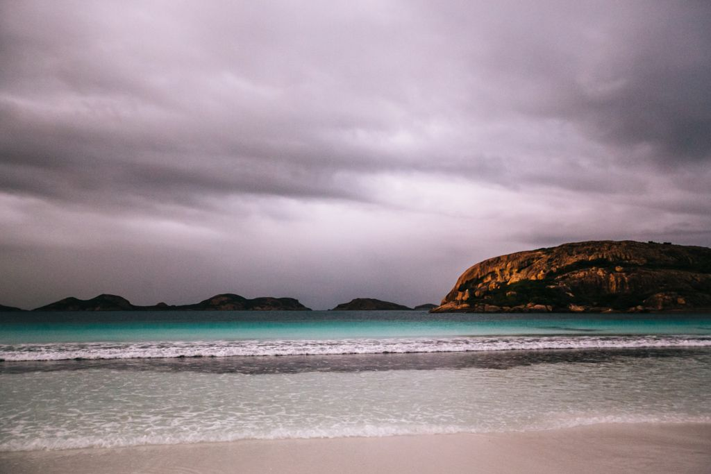 Lucky Bay in Cape Le Grand National Park, Western Australia