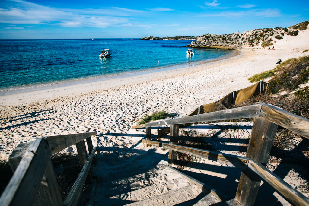 Beach at Rottnest Island