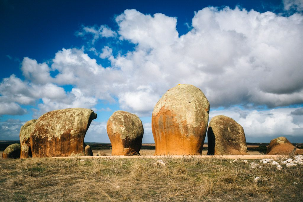 Murphy's Haystacks in Australia