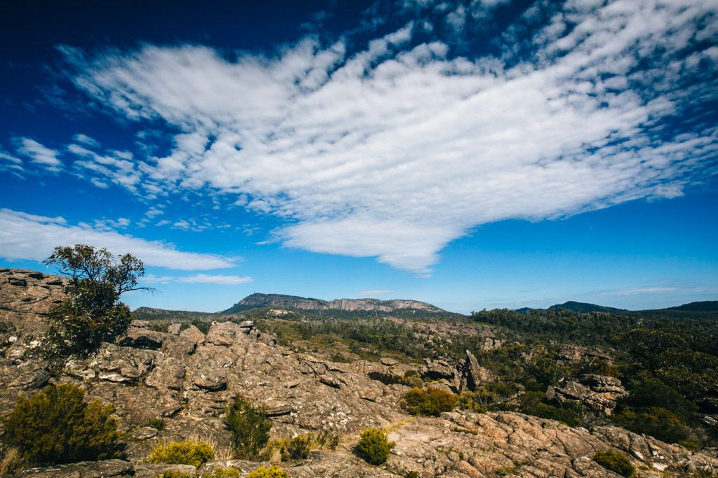 Hiking the Grampians