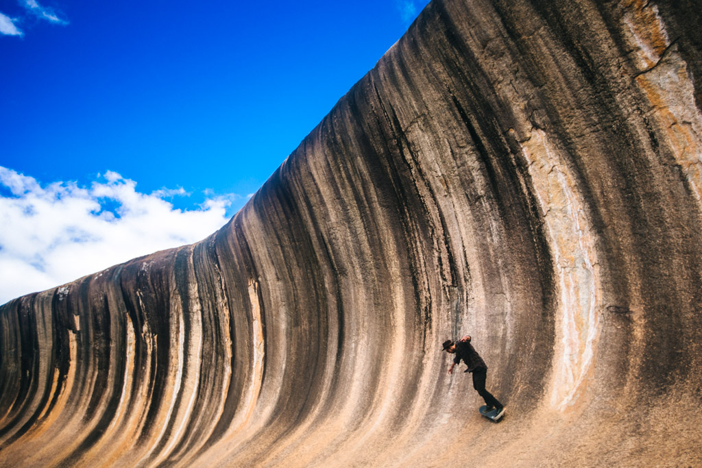 Wave Rock in Australia