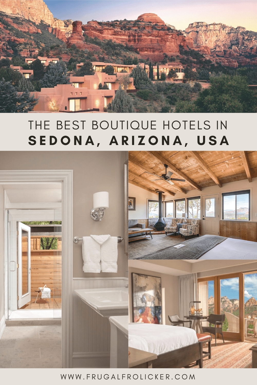 The Best Boutique Hotels in Sedona, Arizona