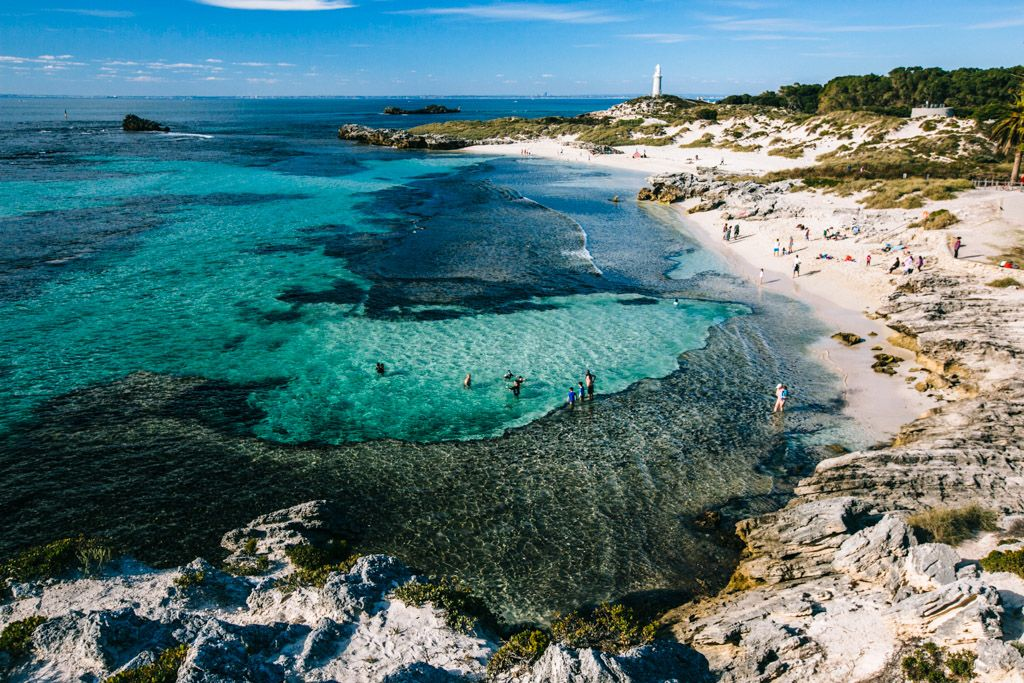 Most beautiful place in Australia: Rottnest Island