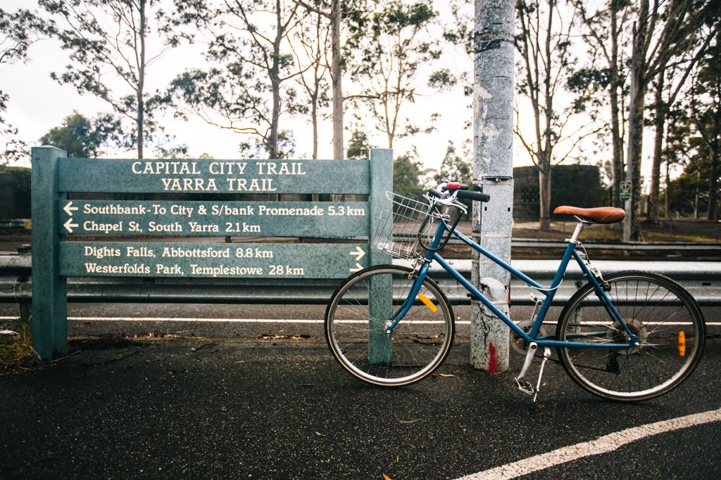 Cycling Melbourne on the Capital City Trail