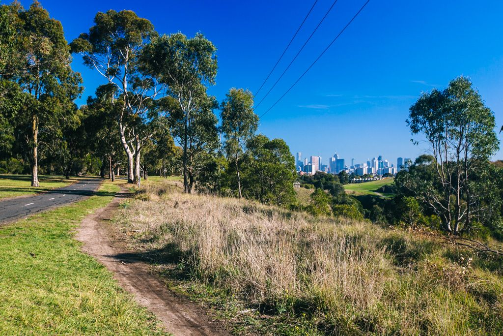 Melbourne bike trail