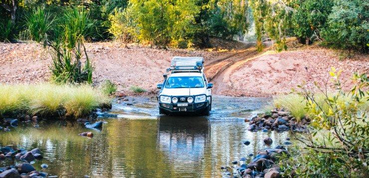 Kimberley river crossing