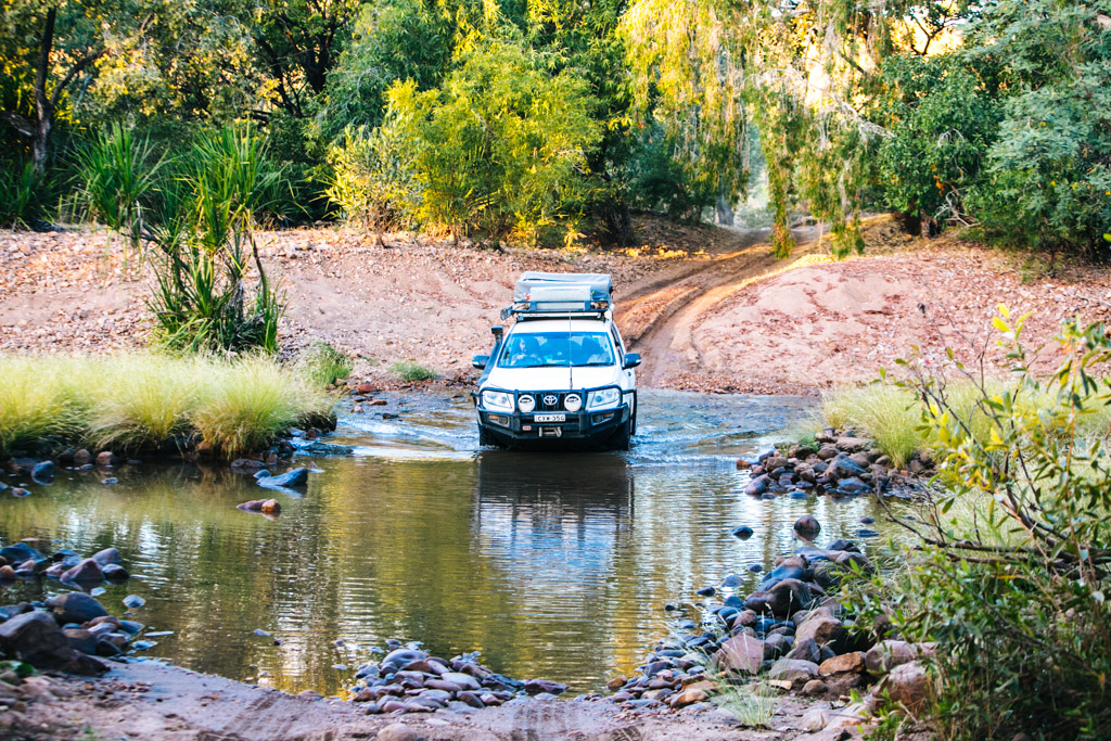 Kimberley river crossing