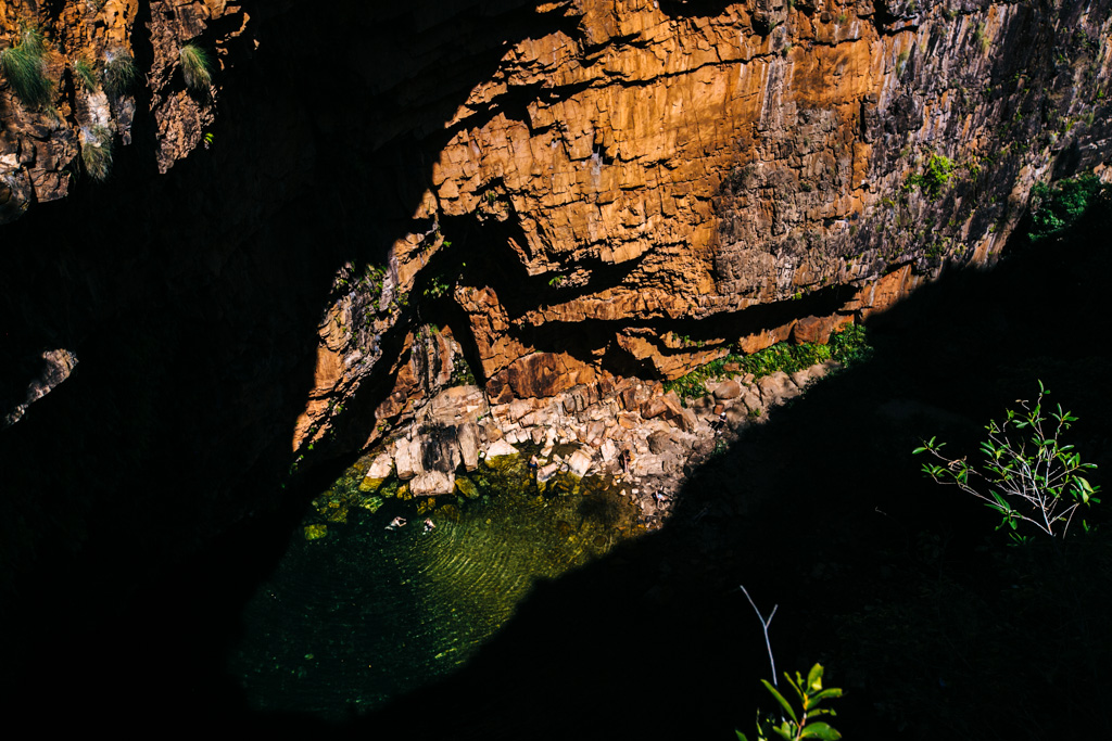 Emma Gorge from above