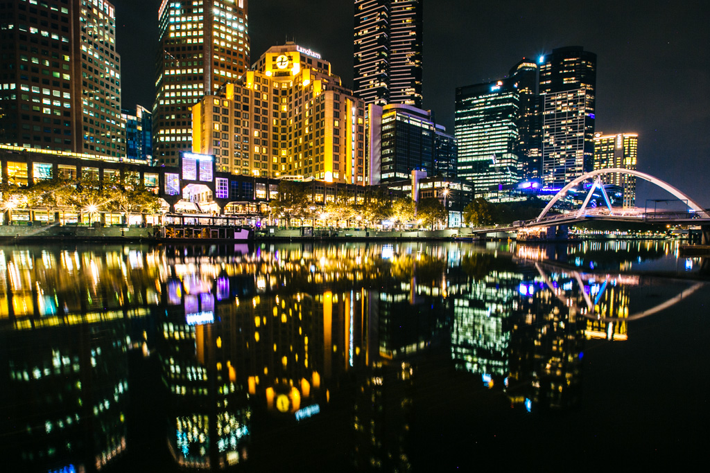 Melbourne night photography