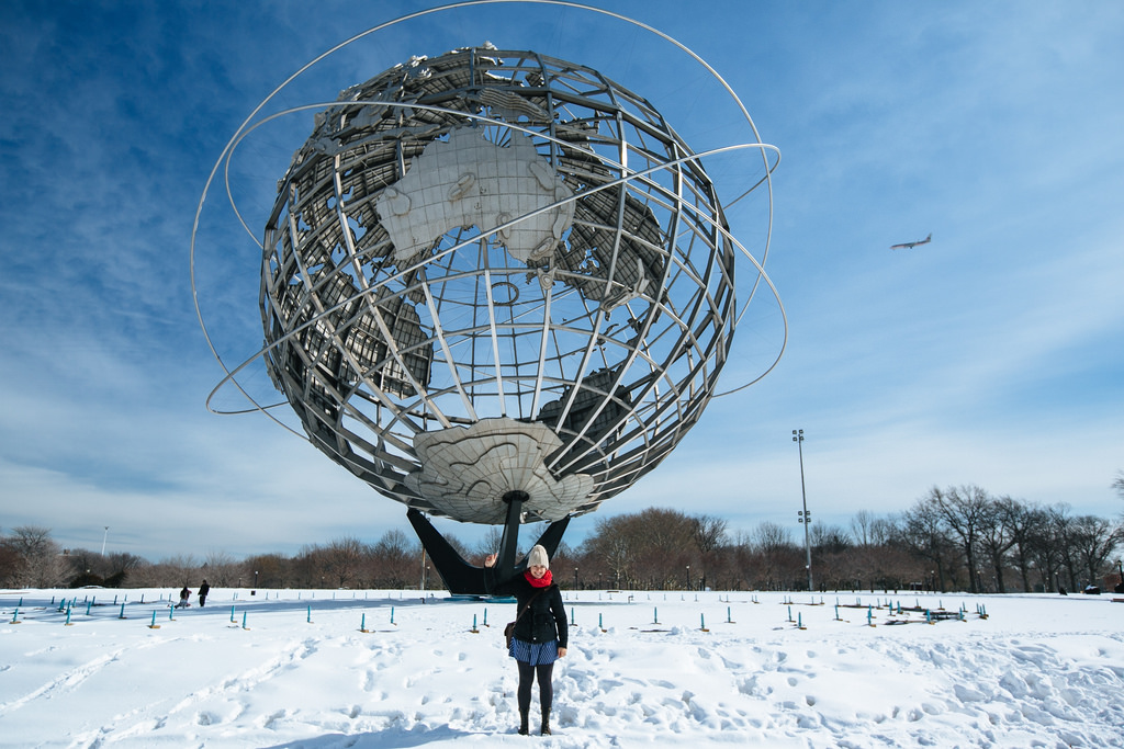 Flushing Meadows globe